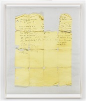 untitled (yellow grid) by lyle ashton harris