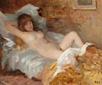 le repos de claudine by marcel dyf
