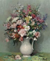 roses et gueules de loup by marcel dyf