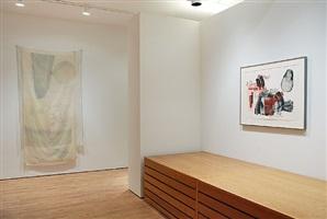 robert rauschenberg: hoarfrost editions 1974 (installation view) by robert rauschenberg