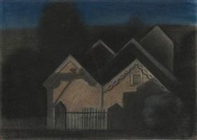 nocturne ii by joseph stella