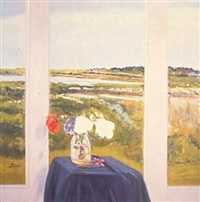 window on the marsh by jane freilicher