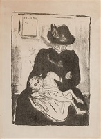 erbschaft (inheritance) by edvard munch