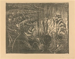 på sirkus (at the circus) by edvard munch