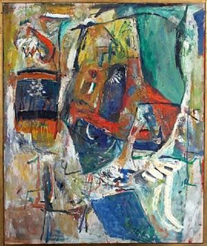 untitled (totem) 1960 by paul burlin