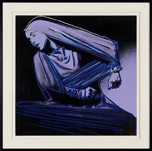 lamentation #388 (martha graham) by andy warhol