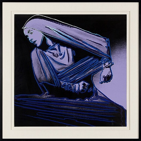 lamentation #388 (martha graham) by andy warhol