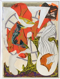 a squeeze of the hand by frank stella