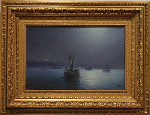 armenians are discharged on the sea of marmara by ivan konstantinovich aivazovsky