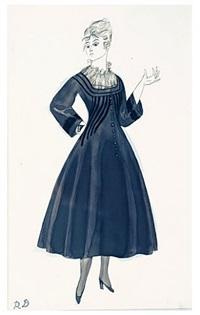 dufy-poiret, modèle (réf 3) by raoul dufy