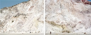 firiplaka red yellow diptych by massimo vitali