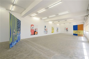 installation view: all mother tongues are difficult