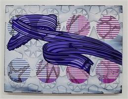 purple stroke by christine streuli