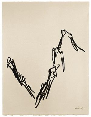 ligne de paysage, dessin n°08 by fabienne verdier