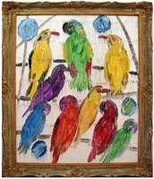 untitled (aviary) by hunt slonem