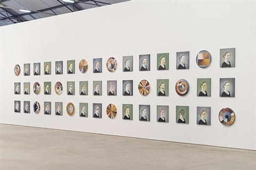 exhibition view:adriana varejão | 'polvo' by adriana varejão