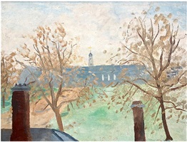 royal hospital chelsea (from st leonards terrace) by winifred nicholson