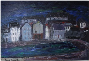 a village in fife by anne redpath