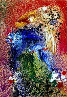 ohne titel (luxury painting) by asger jorn