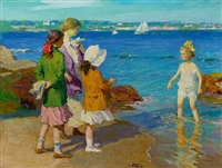 the water's fine by edward henry potthast