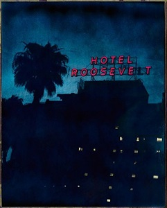 the hollywood roosevelt hotel, 7000 hollywood boulevard, hollywood by jim mchugh