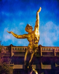 the spirit of american youth rising from the waves color #1 – the americana, 889 americana way, glendale by jim mchugh