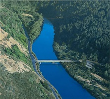 bridge over the navarro by sandra mendelsohn rubin