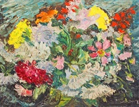 expressionist bouquet by werner drewes