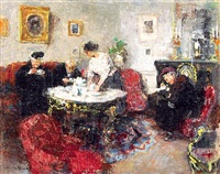 tea time by jules rené hervé