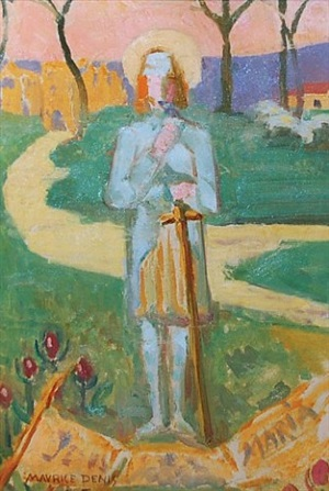 chevalier d'honneur by maurice denis