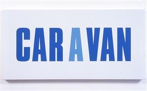 caravan by kay rosen