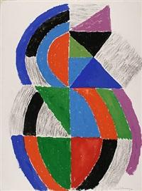 rythme couleur f.1639 by sonia delaunay-terk