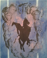 pferdefrau by hans peter adamski