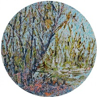blue wildgrass by vu duc trung