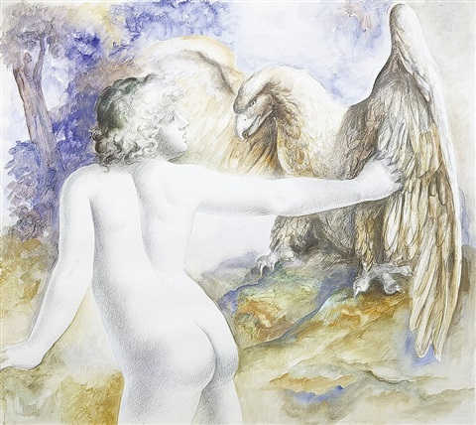 giovane ganimede by carlo maria mariani