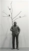 man playing with birds by wang shugang