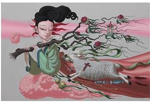 longevity peaches by deng xinli