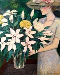 le bouquet sur la table by jean-pierre cassigneul