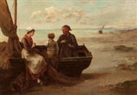 a fisherman and his family by louis laurent