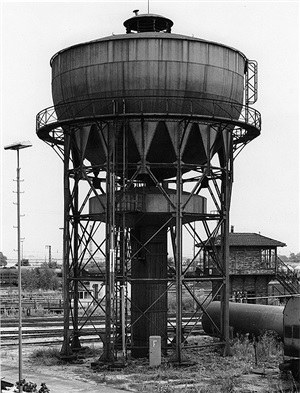 water tower, manheim, germany by bernd and hilla becher