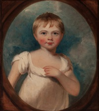 portrait of a young boy (possibly william henry holmes, 1812-1885) by thomas lawrence