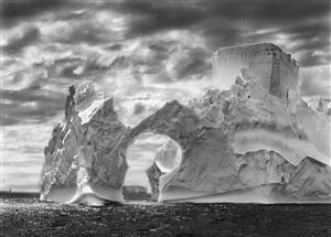 iceberg between paulet island and the shetland islands, antarctica, from the series genesis by sebastião salgado