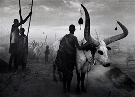 dinka group at pagarau, southern sudan, from the series genesis by sebastião salgado