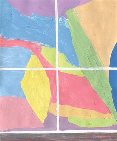 window drawing #2 by chris johanson