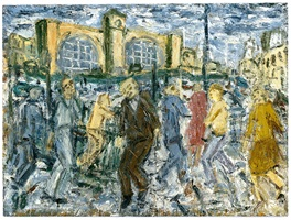 king's cross march afternoon by leon kossoff