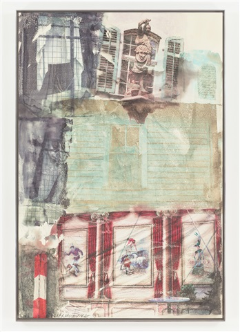 window shade by robert rauschenberg