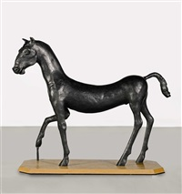 field day i (kouros horse) by barry flanagan