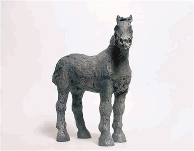 chinese horse iii (standing) by elisabeth frink