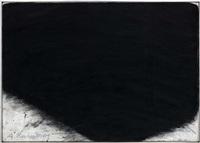 übermalung schwarz weiss by arnulf rainer