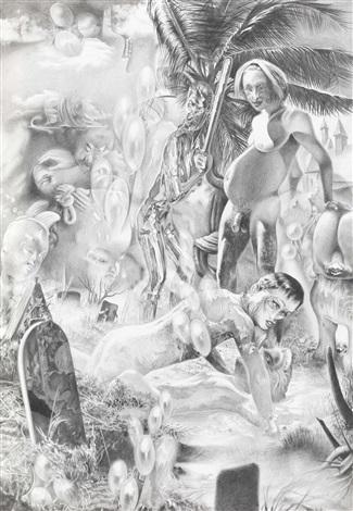 bild für die söhne (hamlet und horatio bei den totengräbern) by dennis scholl